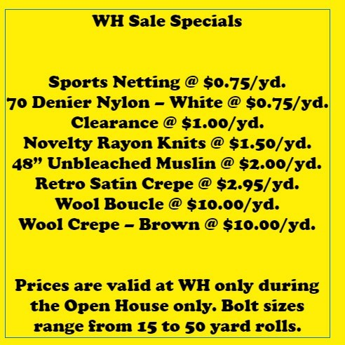 3a0a9ef60256 Below are just some of the fantastic deals you will find at our Warehouse  Sale. More deals will be posted closer to the event.