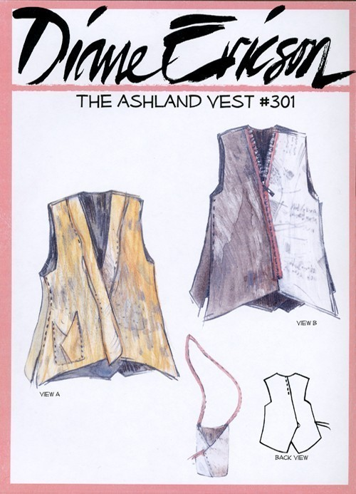 Diane Ericson #301 - The Ashland Vest pattern > Sewing Patterns ...