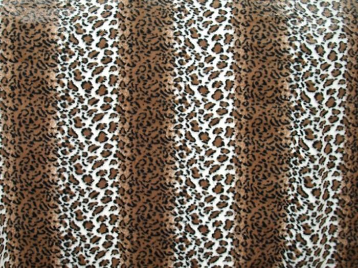 Minky Animal Print Fur Fabric Striped Leopard Gt Minky