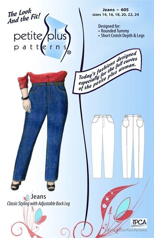 Petite Plus 605 Jeans > Sewing Patterns > Vogue Fabrics