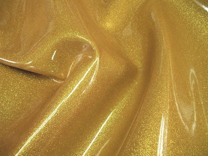 Upholstery Sparkle Vinyl Gold