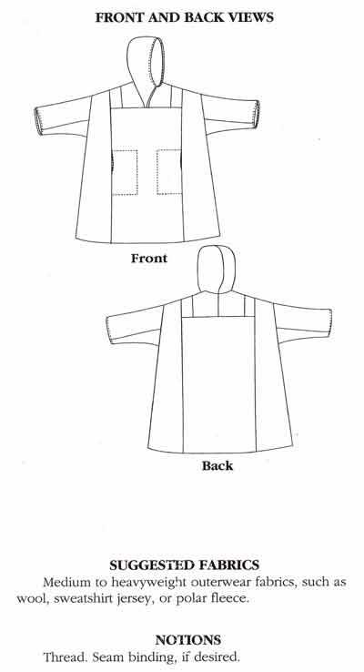 Folkwear #153 Siberian Parka Patterns