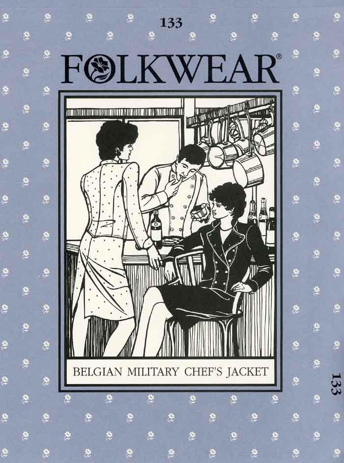 Folkwear 133 Belgian Military Chef S Jacket