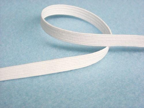 Wholesale Flat Braided Elastic 1040 White 1 4 144yds