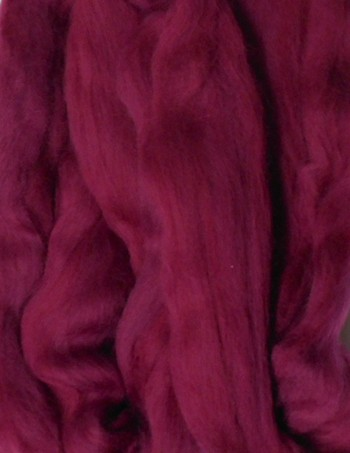 Weir Crafts Merino Wool Roving for Felting 1 Ounce Neon Pink
