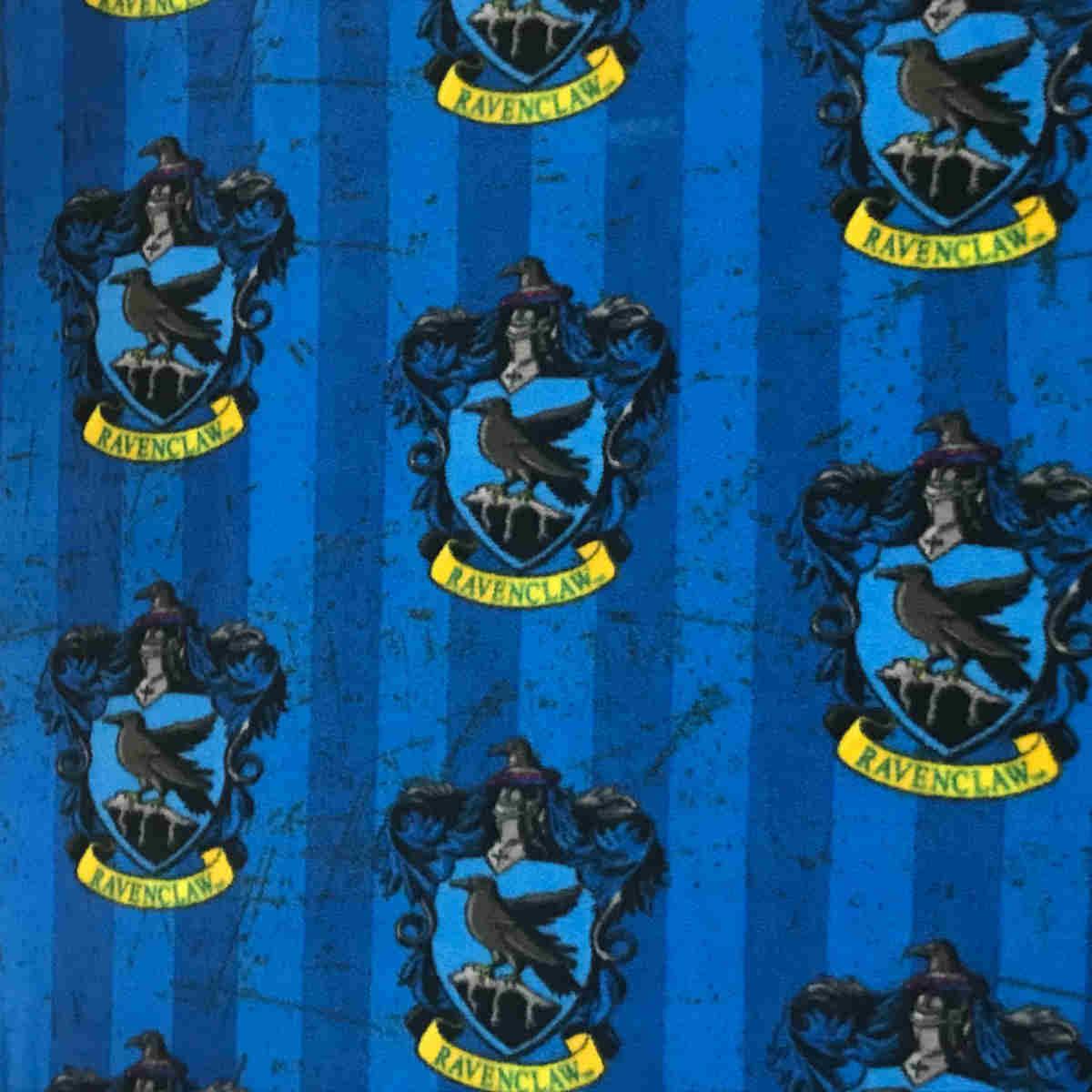 Harry Potter Fleece Fabric Ravenclaw
