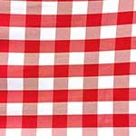 Poplin Gingham - Cafe Check - Picnic Cloth
