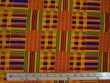 African Print Cotton Fabric - Kente Stripes Print - AF14-#3