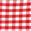 Wholesale Poplin Gingham - Red Cafe Check - Picnic Cloth - 25 yards