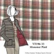 VF196-33 Misnomer Plaid - Cotton Lawn Micro-houndstooth Fabric