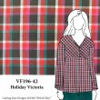 VF196-42 Holiday Victoria - Plaid Cotton Featherweight Flannel Fabric