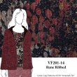 VF201-14 Rune Ribbed - Abstract Soft Sweater Knit Print Fabric from Telio