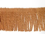 "Drapery Bullion Fringe 3.5"" - Yellow Ochre"