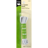 "Dritz - Braided Elastic #9329W -  1/8"" - White"