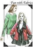 Cutting Line Designs #51509 Fun with Fabrics - Blouse and Jacket Sewing Pattern