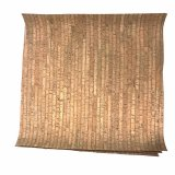 "Cork Fabric - Lines - 18"" square"