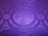 Wholesale Church Brocade - Purple