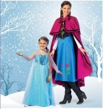 McCall's Costume Pattern - Winter Princess - Kids 3-12