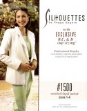 Silhouettes #1500 Notched Lapel Jacket - Sizes 1-4