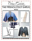 Diane Ericson #332 - The French Fold Shrug pattern