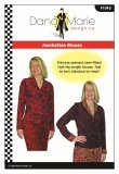 Dana Marie Sewing Pattern #1043 - Manhattan Blouse