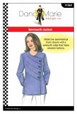 Dana Marie Sewing Pattern #1060 - Sawtooth Jacket - cover
