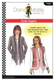 Dana Marie Sewing Pattern #1061 - Twofer Toppers - cover