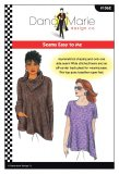 Dana Marie Sewing Pattern #1062 - Seams Easy To Me Top - cover