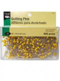 Dritz #1310- Quilting Pins, 500 Count