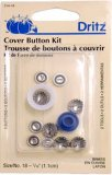 Dritz Buttons To Cover Kit, Size 18