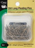 Dritz #28 Long Pleating Pins - 350 Count