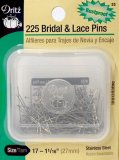 Dritz #33 Bridal & Lace Pins -  225 Count