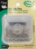 Dritz #49 - Silk Pins - 200 count
