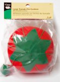 Dritz #731- Extra Large Tomato Pin Cushion with Strawberry Emery
