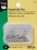 Dritz #8S - Sequin Pins - 350 count