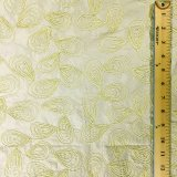 Embroidered Silk Dupioni - Lemon Meringue 219-19