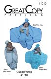 Great Copy #1010 Cuddle Wrap Sewing Pattern - cover