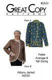 Great Copy #2530 - Albany Jacket Sewing Pattern - cover