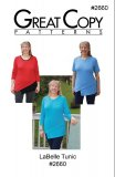Great Copy #2660 LaBelle Tunic Sewing Pattern