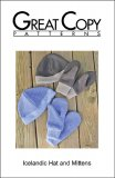 Great Copy #2685 Icelandic Hat and Mittens Sewing Pattern - cover
