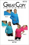 Great Copy #2730 Marathon Pullover Sewing Pattern - cover