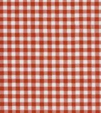 Oilcloth - Gingham Red