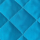 Double Faced Quilted Poly Cotton Broadcloth - Turquoise