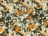 ITY Knit Prints - Orange Floral