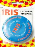 Gingham Square #1706 - Iris Swiss Superfine Pins - 500 count
