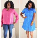 Liesl + Co - Camp Shirt and Dress Sewing Pattern
