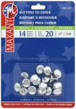 Maxant Buttons to Cover - Size 20 Refill