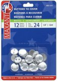 Maxant Buttons to Cover - Size 24 Refill