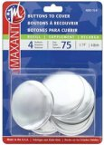Maxant Buttons to Cover - Size 75 Kit