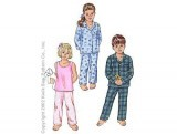 Kwik-Sew #3126  Toddlers' - Sleepwear